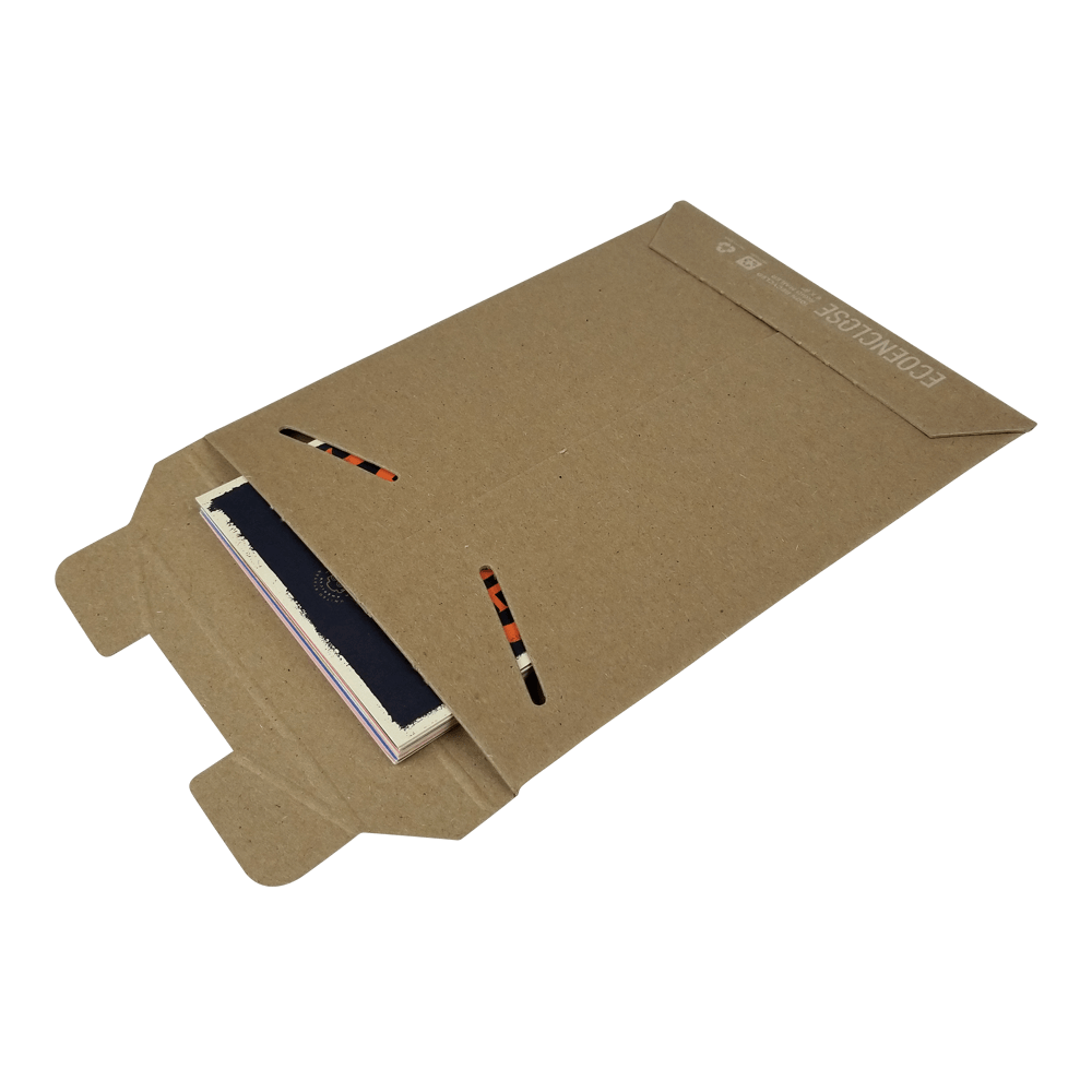 Extra Rigid Tab Locking Mailer