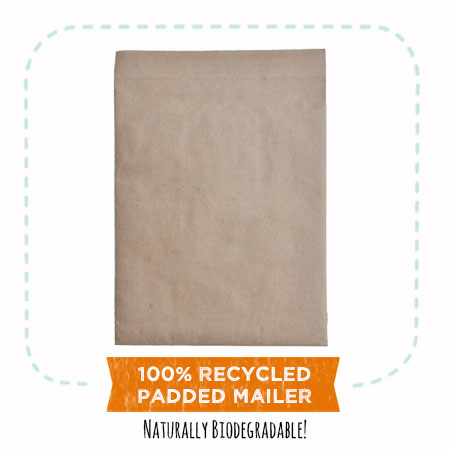 EcoEnclose's 100% recycled padded mailers